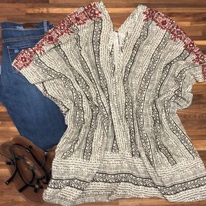 Beautiful FREE PEOPLE Tunic/Beach Cover Up - Large